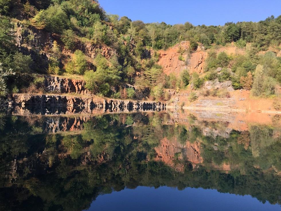 Grundwassersse im ehem. Löhrbruch im September 2016
