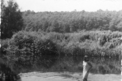Im Fluss an der Breiten Pritsch (Braare Pritsch)