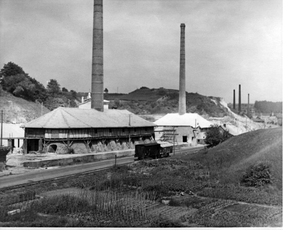 Ringöfen Kalkwerk Steeden um 1940