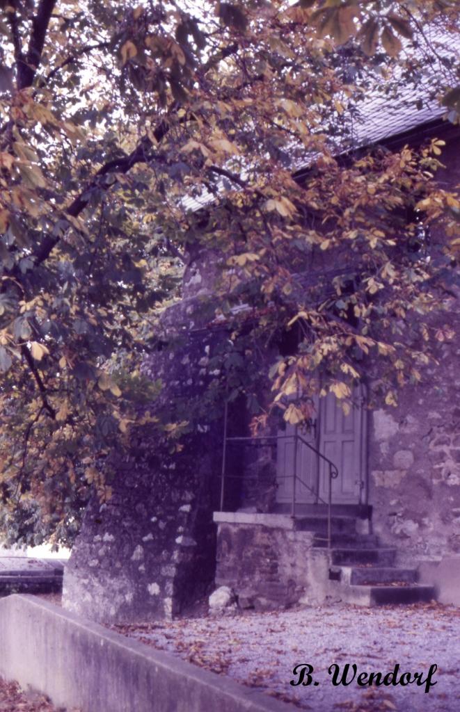 Johanneskapelle - Eingang in die Kirche