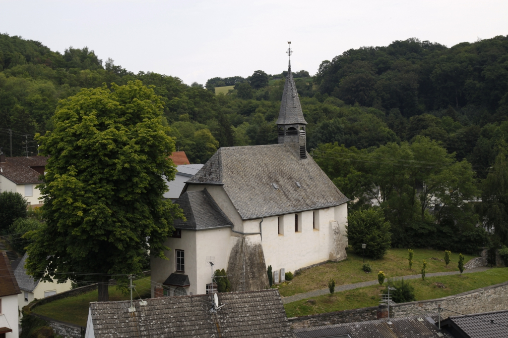 Blick auf die Johanneskapelle