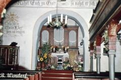 Johanneskapelle - Blick in den Altarraum