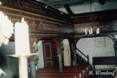 Johanneskapelle - Blick in den Kirchenraum