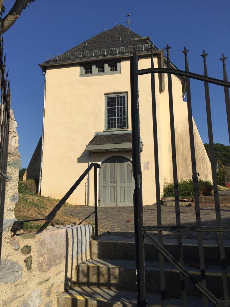Johanneskapelle - Zugang vom Matthesplatz