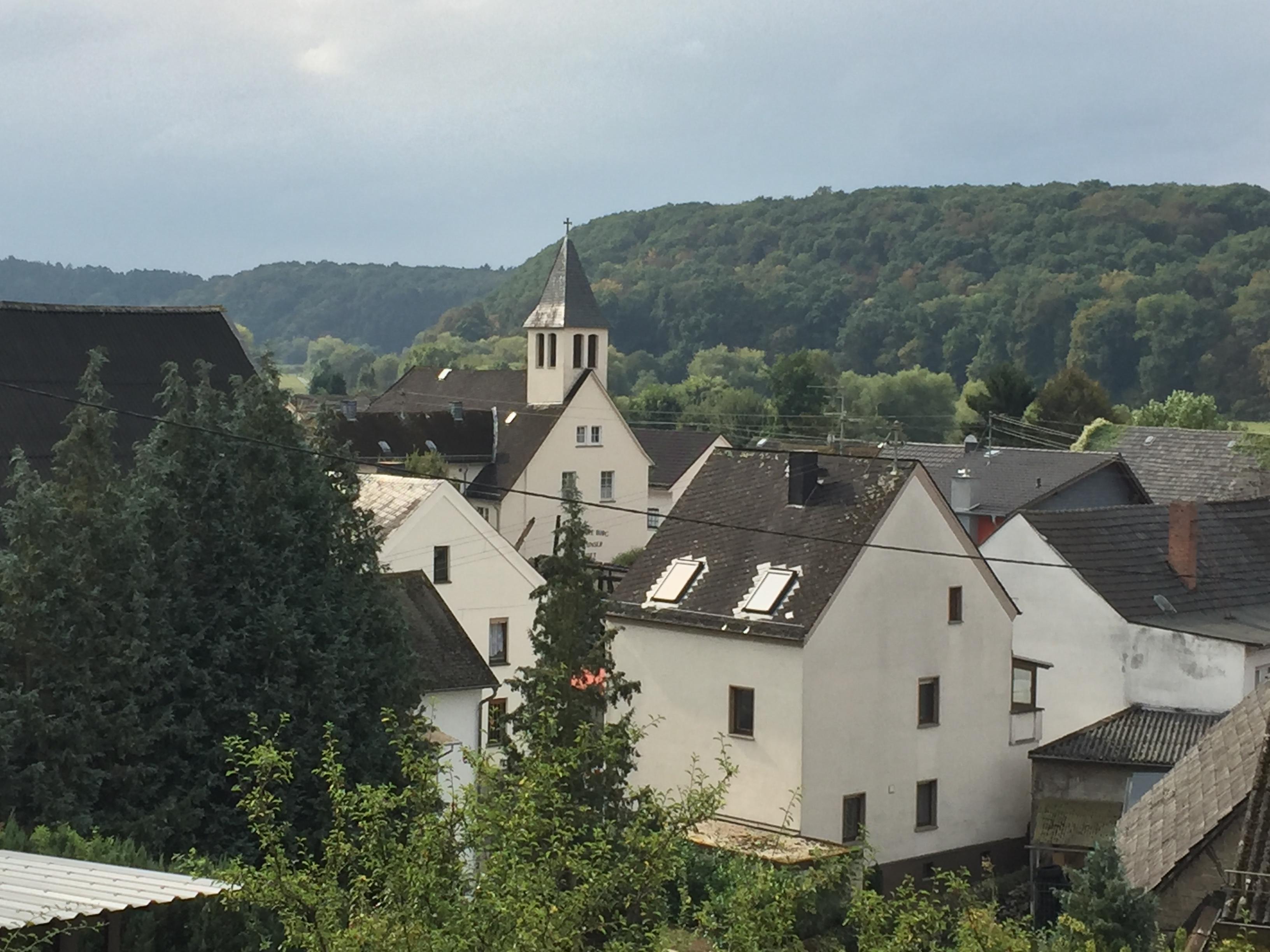 Blick von der Eichschulter auf das Unterdorf