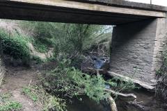 Brücke vor der Kerkerbachmündung