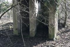 Ein stilles Örtchen im Wald für die früheren Steinbrucharbeiter