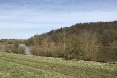 Der Tiefenbach-Teich vor dem früheren Stausee