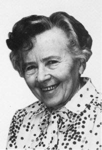 Die Steedener-Heimatdichterin Frieda Kramp. geb. 10.02.1906 - gest. 28.03.1993