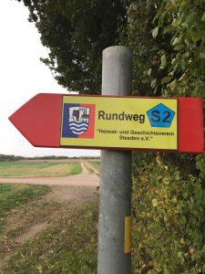 Kennzeichnung Wanderweg 1
